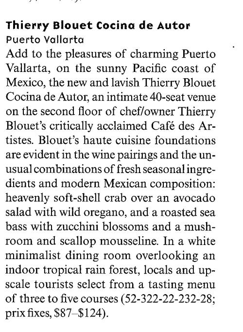Condé Nast Traveler, May 2005