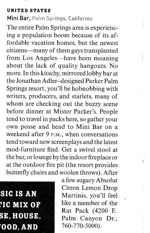 Condé Nast Traveler, May 2006